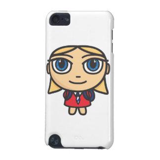 Cartoon Character School Girl Ipod Touch Case