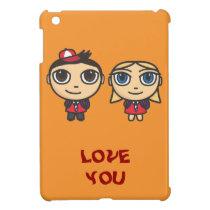 Cartoon Character School Kids iPad Mini Case