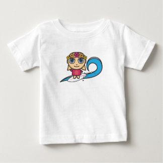 Cartoon Character Surfer Girl/Waves Vest Tshirts
