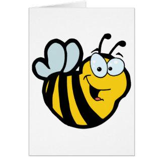 Cartoon Characters Bee Card