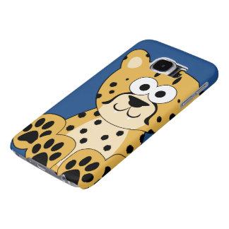 Cartoon Cheetah Samsung Galaxy S6 Case