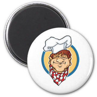 Cartoon Chef Fridge Magnets