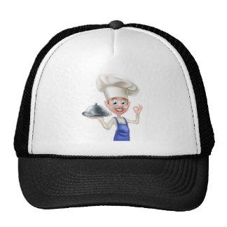 Cartoon Chef Trucker Hat