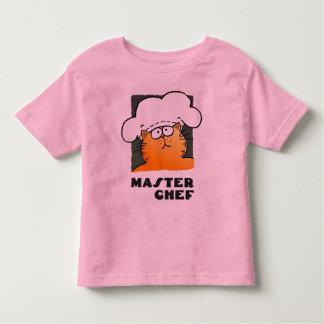 Cartoon Chef Tshirt Kid| Funny Cooking Chef Tee
