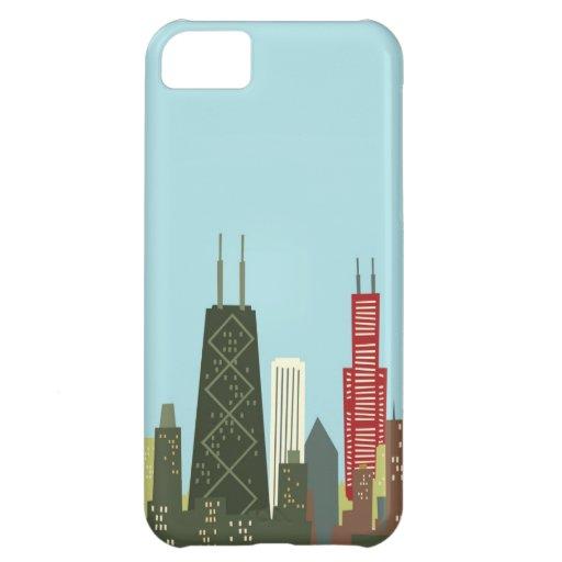 Cartoon Chicago iPhone 5C Case