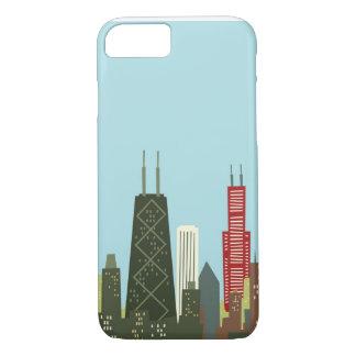 Cartoon Chicago iPhone 8/7 Case