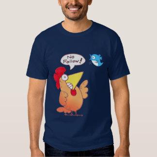 Cartoon Chicken | Chicken + Blue Bird T Shirt