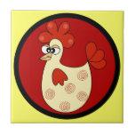 Cartoon Chicken kitchen tile