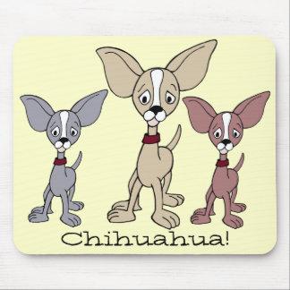 Cartoon Chihuahua 302 01a Mouse Pad