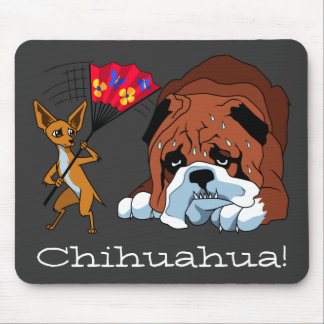 Cartoon Chihuahua 725 - 1 Mouse Pad