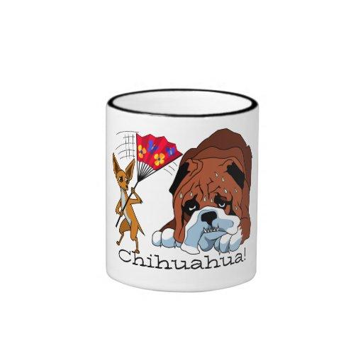 Cartoon Chihuahua 725 - 4 Mug