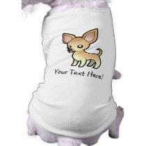 Cartoon Chihuahua (smooth coat) T-Shirt