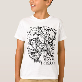 Cartoon Chimpanzee T-Shirt