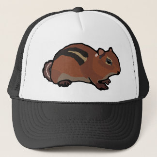 Cartoon Chipmunk Design Trucker Hat