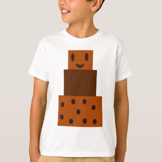 Cartoon Chocolate Cake T-Shirt