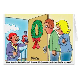 Cartoon Christmas Card by Dan Rosandich