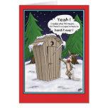 Cartoon Christmas Card: The List