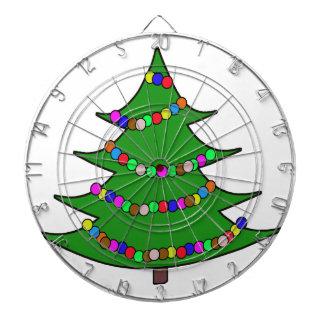 Cartoon Christmas Tree Dartboards