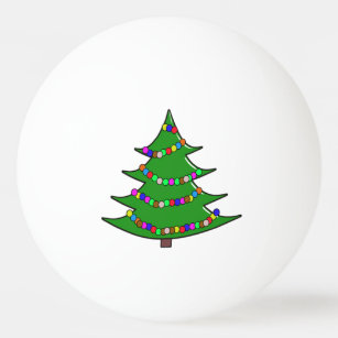 Christmas Tree Decorations Ping Pong