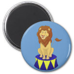 Cartoon Circus Lion Magnet