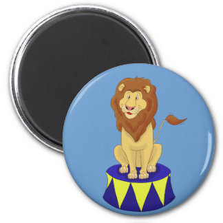Cartoon Circus Lion Magnet Magnets