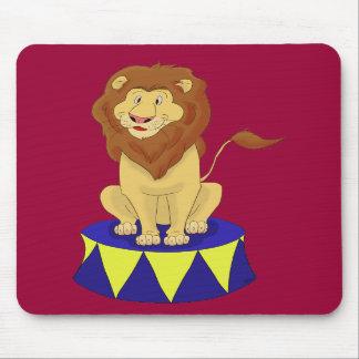 Cartoon Circus Lion Mousepad