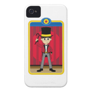 Cartoon Circus Ringmaster Case-Mate iPhone 4 Case
