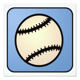Cartoon Clip Art Ball Baseball Glove Boy Birthday Card