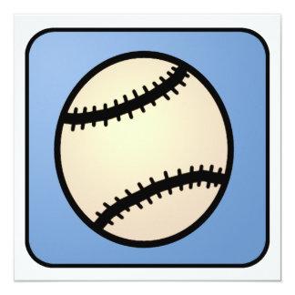 Cartoon Clip Art Baseball Boy Birthday Card