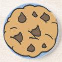 Cartoon Clip Art Chocolate Chip Cookie Dessert coaster