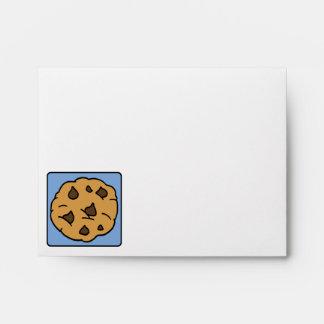 Cartoon Clip Art Chocolate Chip Cookie Dessert Envelopes