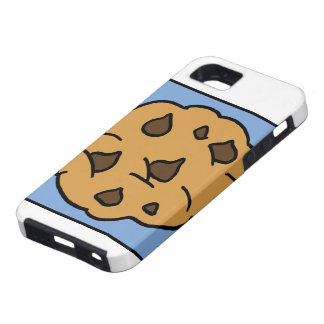 Cartoon Clip Art Chocolate Chip Cookie Dessert iPhone SE/5/5s Case