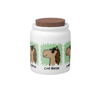 Cartoon Clip Art Cool Horse Wearing Sunglasses Candy Jars