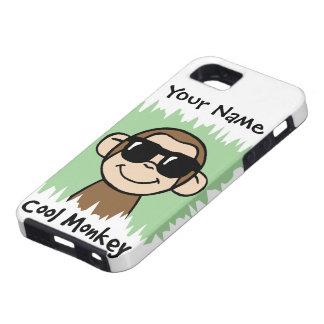 Cartoon Clip Art Cool Monkey with Sunglasses iPhone SE/5/5s Case