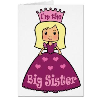 Cartoon Clip Art Cute Big Sister Princess Hearts Greeting Cards