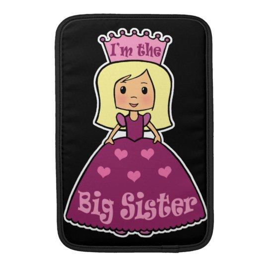 Cartoon Clip Art Cute Big Sister Princess Hearts MacBook Sleeve