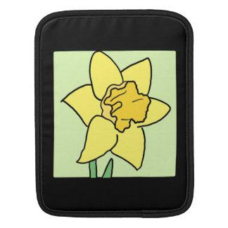 Cartoon Clip Art Daffodil Spring Garden Flower Sleeve For iPads