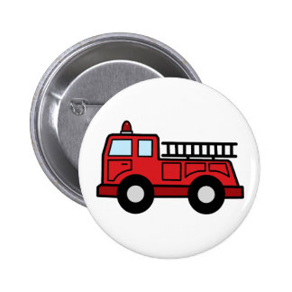 Cartoon Clip Art Firetruck Emergency Vehicle Truck Button