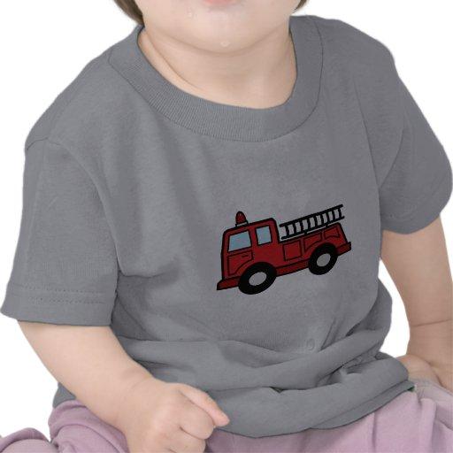 Cartoon Clip Art Firetruck Emergency Vehicle Truck Shirt