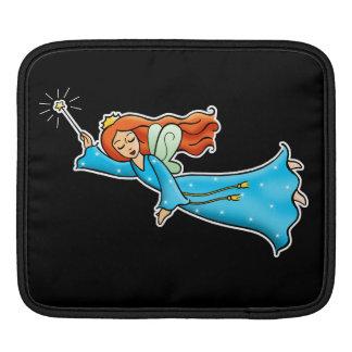 Cartoon Clip Art Flying Fairy Princess Magic Wand iPad Sleeve