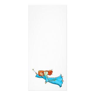 Cartoon Clip Art Flying Fairy Princess Magic Wand Rack Cards