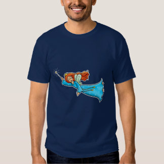 Cartoon Clip Art Flying Fairy Princess Magic Wand T-shirts