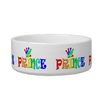 Cartoon Clip Art Rainbow Text, Prince and Crown Bowl