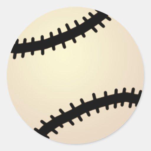 Cartoon Clip Art Sports, Baseball, Blue Background Sticker