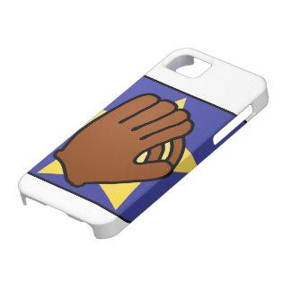 Cartoon Clip Art Sports Baseball Glove Gold Star iPhone SE/5/5s Case
