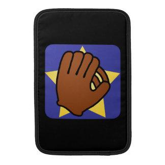Cartoon Clip Art Sports Baseball Glove Gold Star MacBook Sleeve