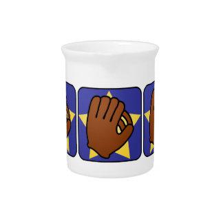 Cartoon Clip Art Sports Baseball Glove Gold Star Pitcher