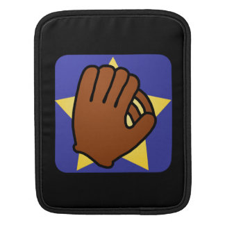 Cartoon Clip Art Sports Baseball Glove Gold Star Sleeve For iPads