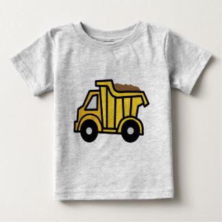 Cartoon Clip Art with a Construction Dump Truck Baby T-Shirt