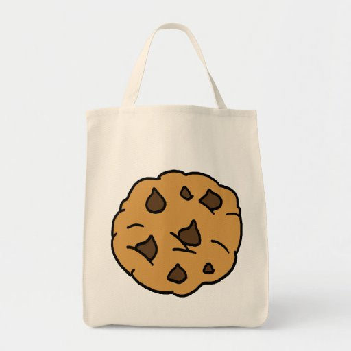 Cartoon Clipart HUGE Chocolate Chip Cookie Dessert Bags